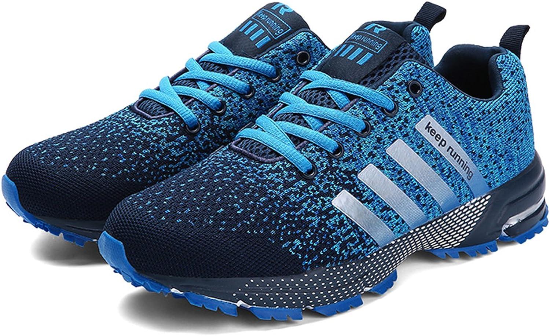 Kuako - Zapatillas de correr para hombre y mujer, deportivas, deportivas, para caminar, gimnasio, correr, atléticas, color Azul, talla 36.5 EU: Amazon.es: Zapatos y complementos