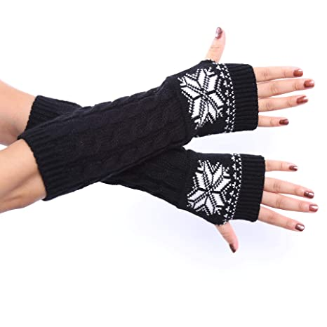 2018 Winter Reine Farbe Wolle Weiche Modische Warme Handschuhe Finger Kaschmir Halb Arme Arm Wärmer 1 Paar Damen-accessoires Armstulpen