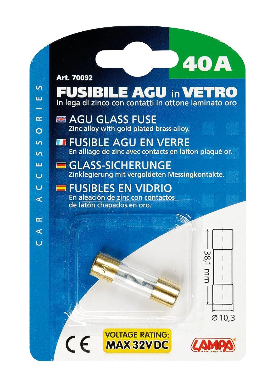Lampa 70089/Fusible en verre aGU