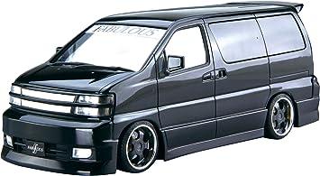 2000 Nissan Elgrand APE50 Fabulous Late 1:24 Model Kit Bausatz Aoshima 054529