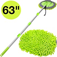 WillingHeart 2-in-1 Car Wash Mop with Long Handle