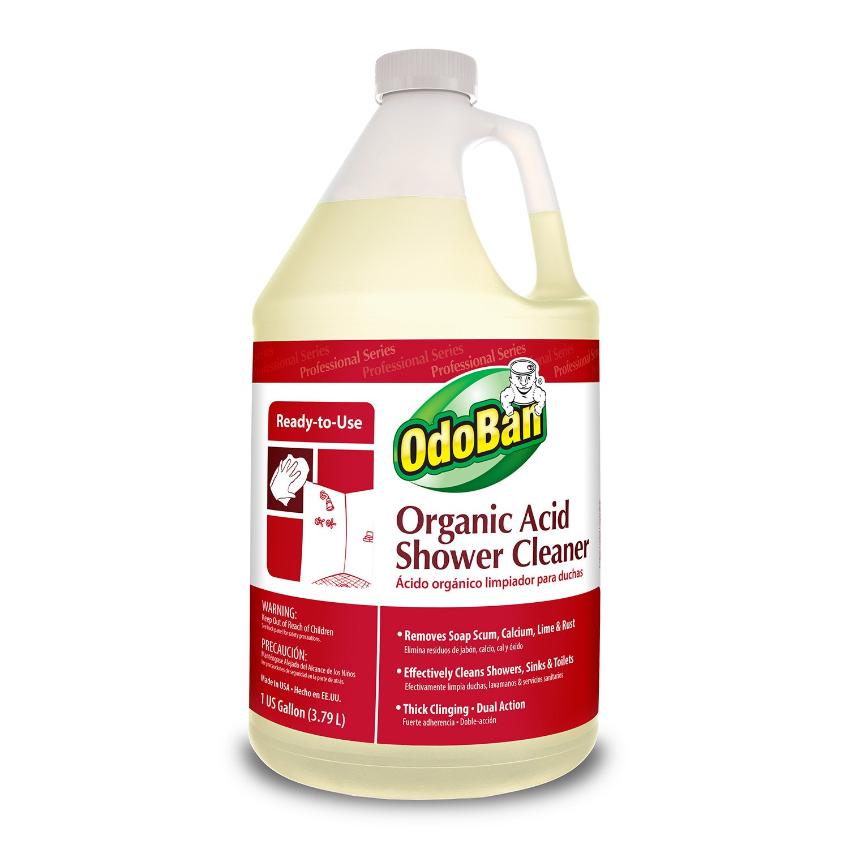 amazoncom odoban 935362 g4 rtu organic acid shower cleaner 1 gallon bottle industrial scientific - Best Bathroom Cleaner