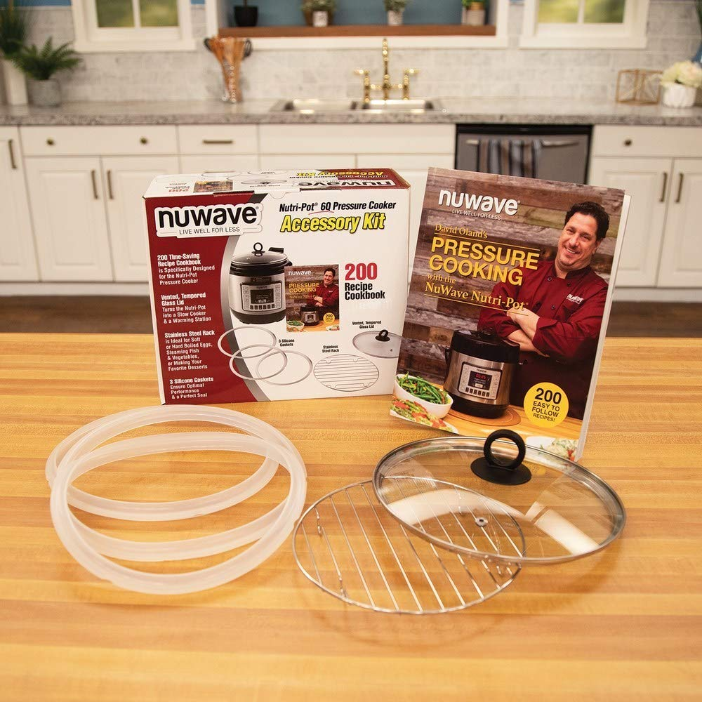 Nutri Pot Pressure Cooker Accessoy Kit