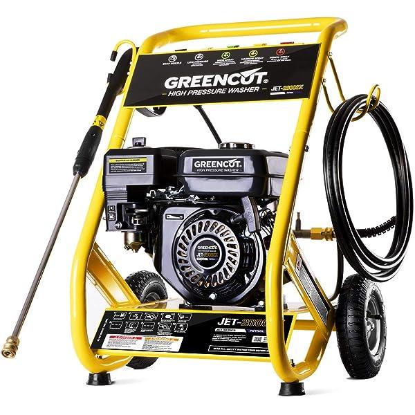 Greencut JET-3200 - Hidrolimpiadora de alta presión, motor ...