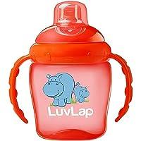 Luvlap Hippo Sipper, Orange, 225ml
