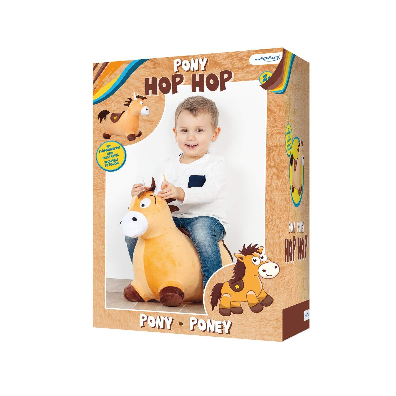 John 59043 Hop Pony - Peluche Hinchable con Revestimiento de ...