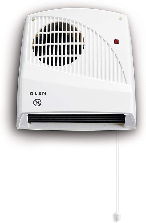 fan heater plug has no earth wire