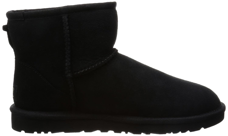 Ugg Classic Mini - Botines planos para mujer, color Negro (Black), talla 36 EU: Amazon.es: Zapatos y complementos