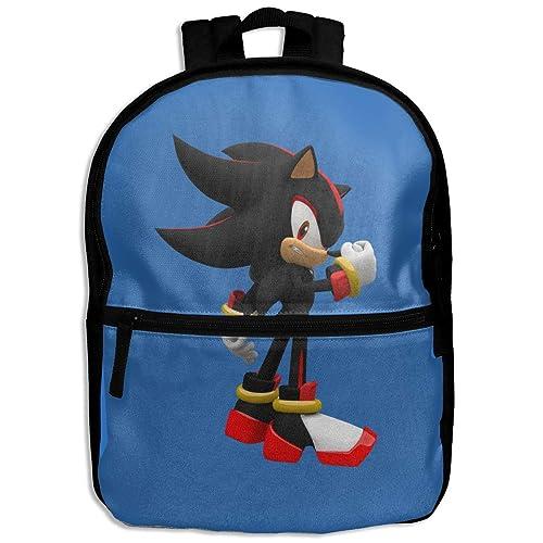 NJIASGFUI Mochila para niños Sonic Shadow The Hedgehog ...