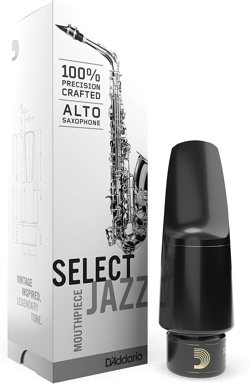 D'Addario Select Jazz Alto Saxophone Mouthpiece