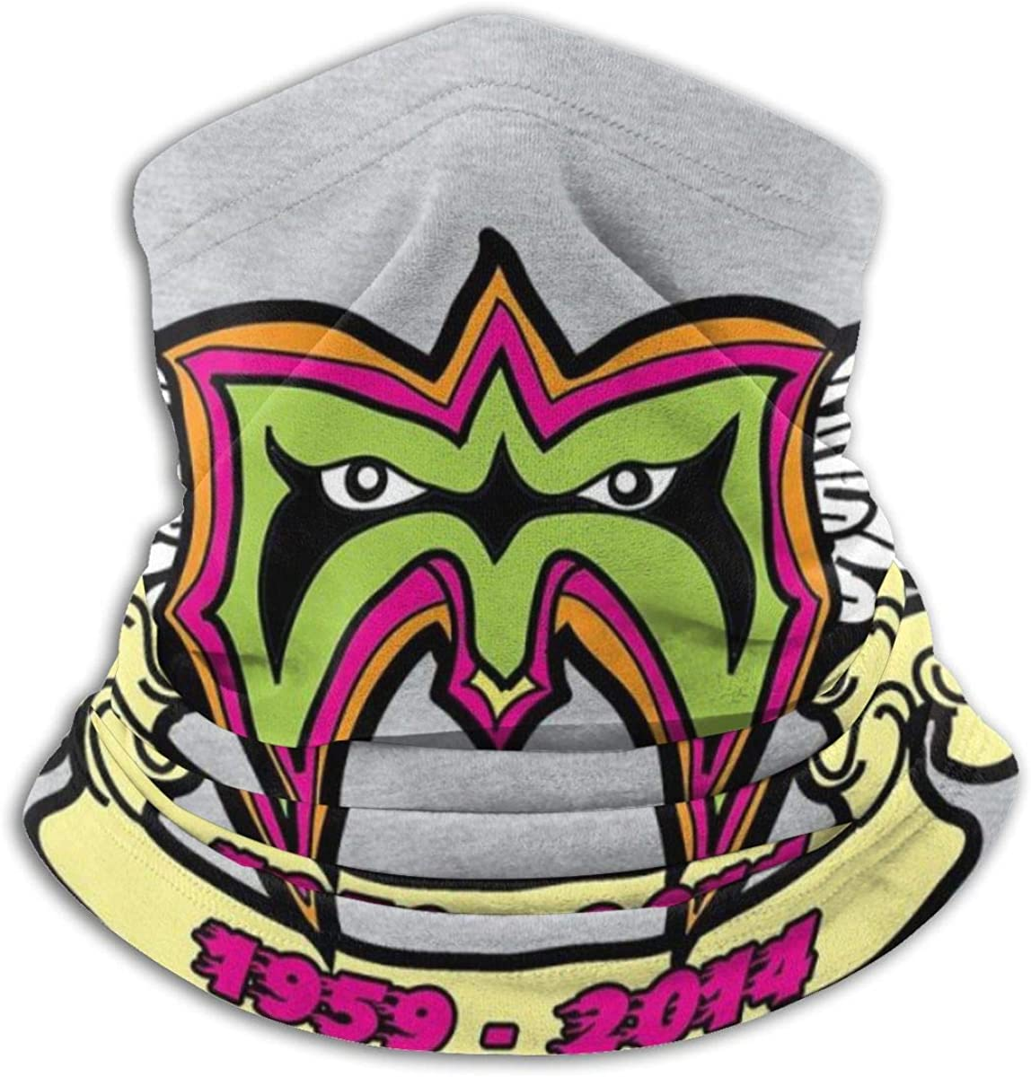 Amazon Com Ultimate Warrior Rip Logo Tribute Face Mask Bandanas For Dust Outdoors Festivals Sports Clothing