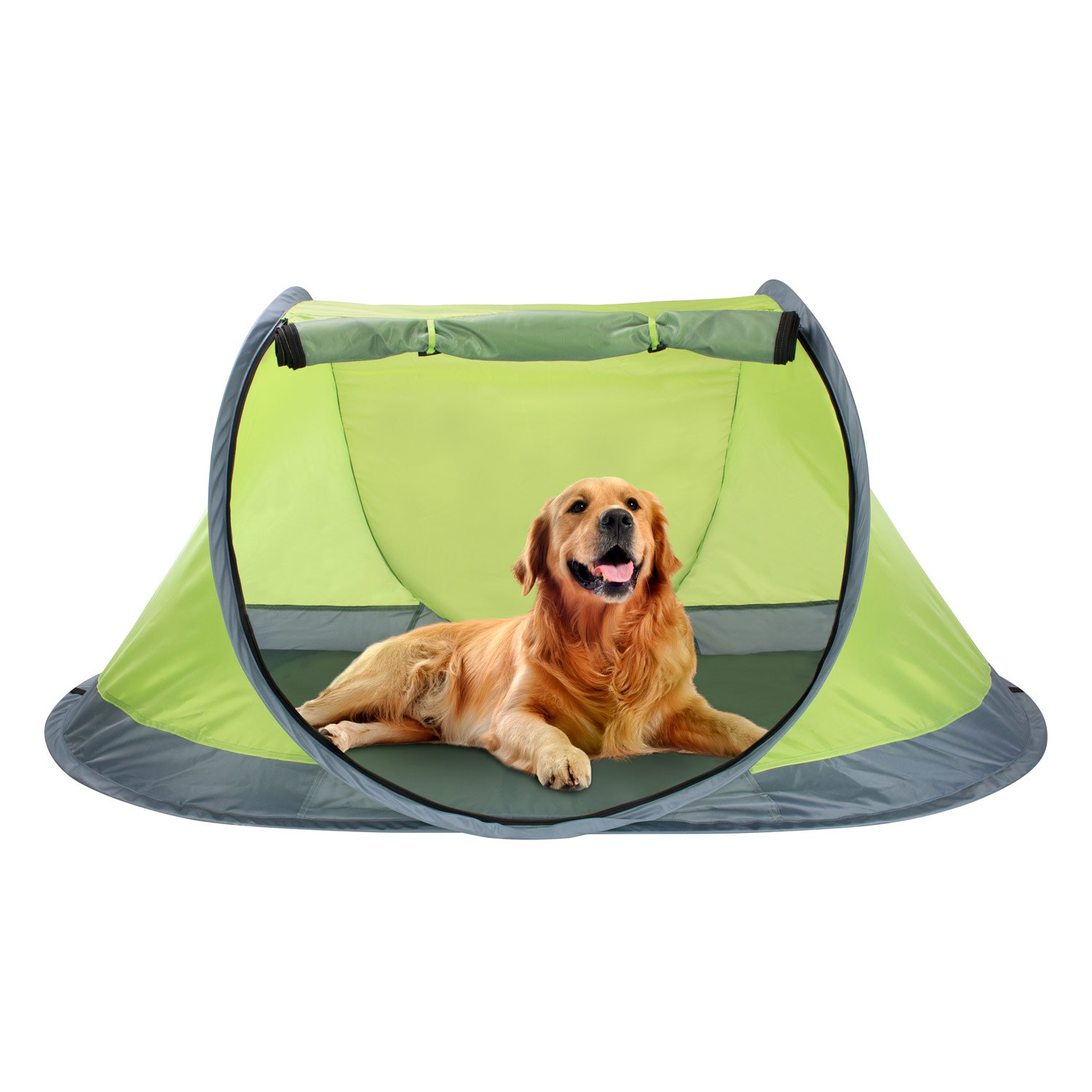 Winterial Outdoor Pop-Up Pet Tent, Dog Tent with 2-Inch Foam Pad, Includes Carry Bag by Winterial
