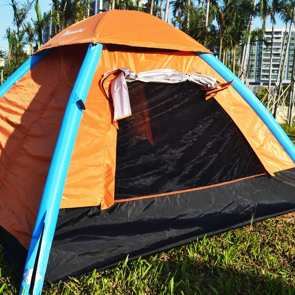 Amazon.com: IHUNIU, INC. Tienda de campaña inflable para 4 ...