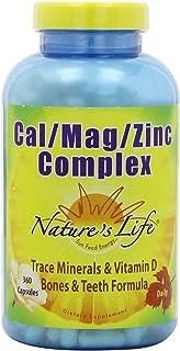 Natures Life Cal/Mag/Zinc Capsules, 1000/500/15 Mg,
