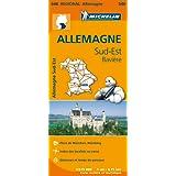 Carte Allemagne Sud-Est, Bavière Michelin
