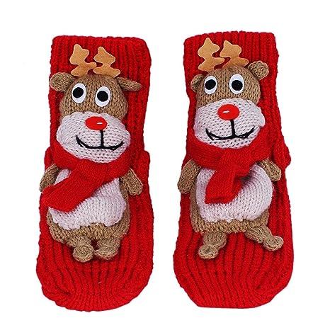 Amknn Calcetines de Navidad Calcetines Navidad Mujer Santa Claus Muñeco de Nieve Calcetines de Felpa Cálidos Calcetines Navidad Regalo Calcetines Navidad ...