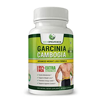 Pure Garcinia Cambogia Best Extra Strength Weight Loss Supplement With 95 Hca Capsules