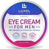 Eye Cream for Men, Natural and Organic Anti Aging Eye Cream To Reduce Puffiness, Wrinkles, Dark Circles, Crows Feet and Under