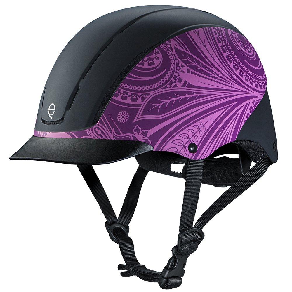 100 %品質保証 TROXEL B06XHTHYWHTROXEL DIALFITロープロファイルスピリットホースライディングヘルメットパープルボーホー B06XHTHYWH, 東北町:fd9ba0f5 --- svecha37.ru