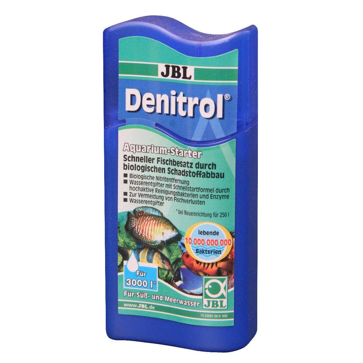 JBL Denitrol 23061 Bakterienstarter für Süß- und Meerwasser Aquarien ...