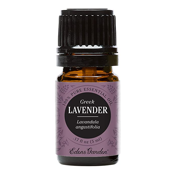 Edens Garden Lavender Greek Essential Oil, 100% Pure Therapeutic Grade (Anxiety & Headaches) 5 ml
