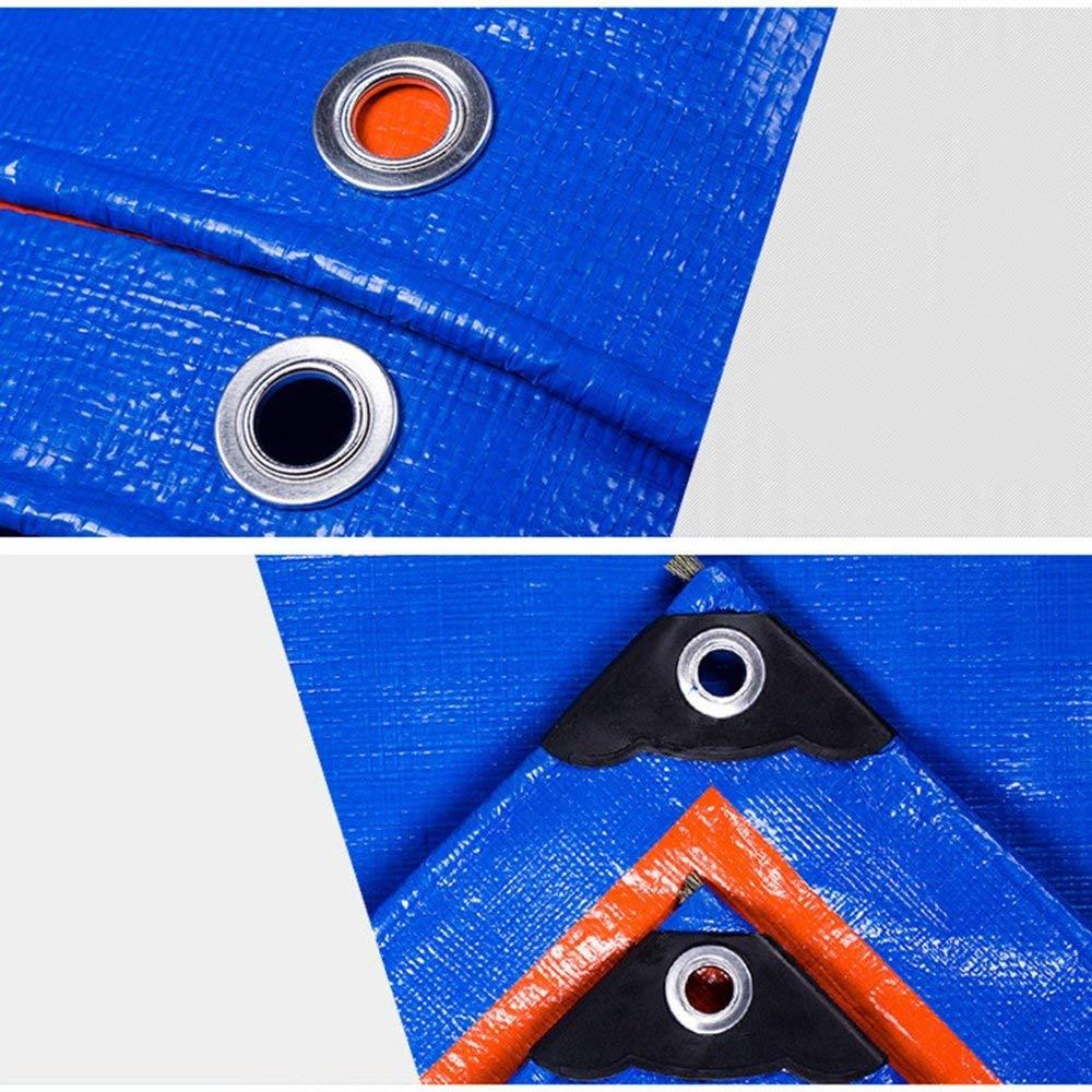 QINCH Außenzelt Gepolsterte Wasserdichte und regendichte Sonnencreme-Plane LKW-Plane LKW-Plane LKW-Plane Im Freien Schatten staubdicht Winddicht Antioxidans (Farbe   Blau, Größe   4  4m) B07PBJT8SW Zeltplanen Jahresendverkauf bc2dc9