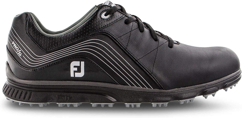 FootJoy Pro/SL, Horma Ancha. Zapatillas de Golf para Hombre, Negro ...