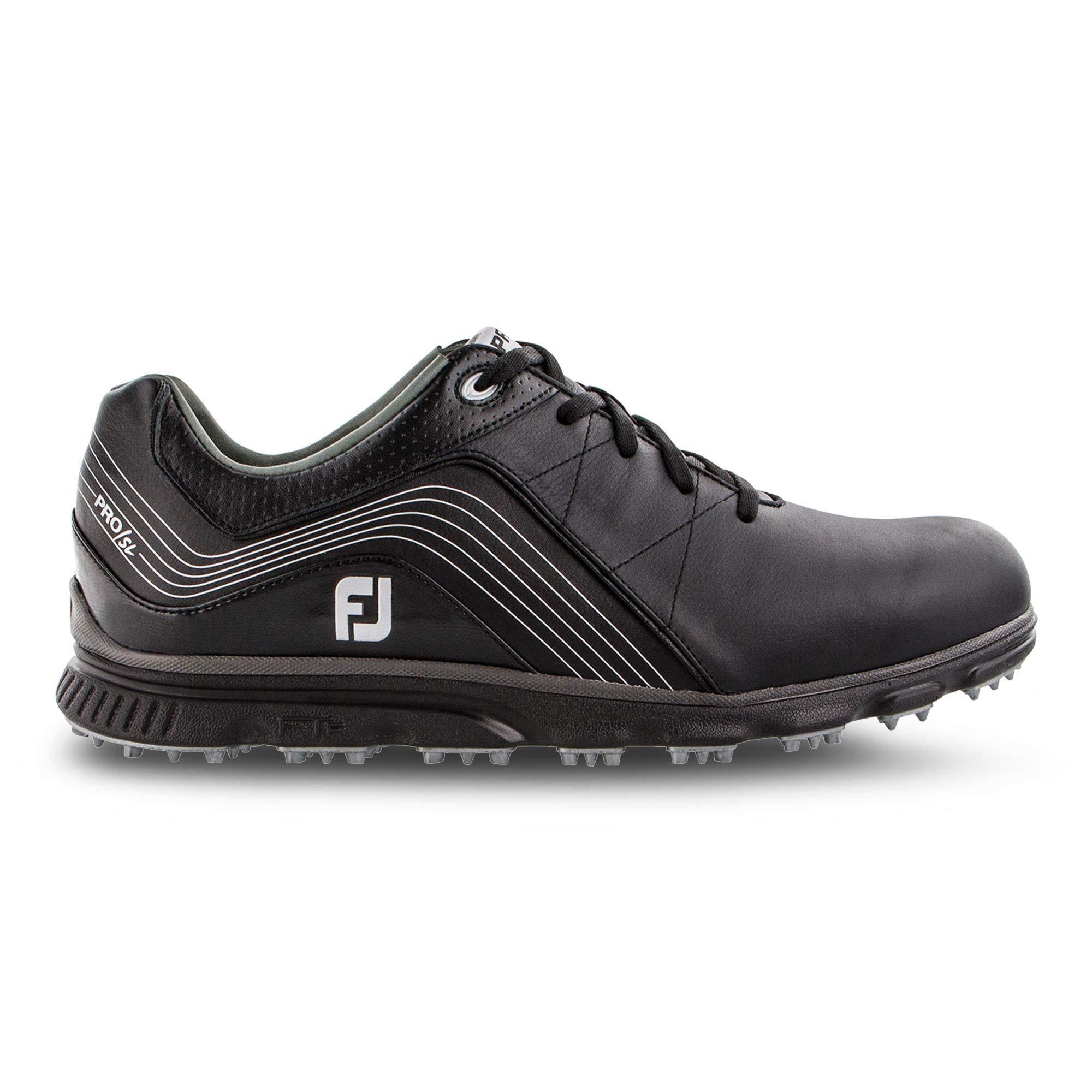 FootJoy Men's Pro/SL Golf Shoes Black 12 M US by FootJoy