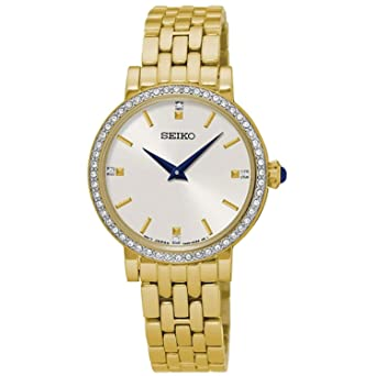 Seiko Ladies Quartz Analog Dress Watch (Imported) SFQ808P1