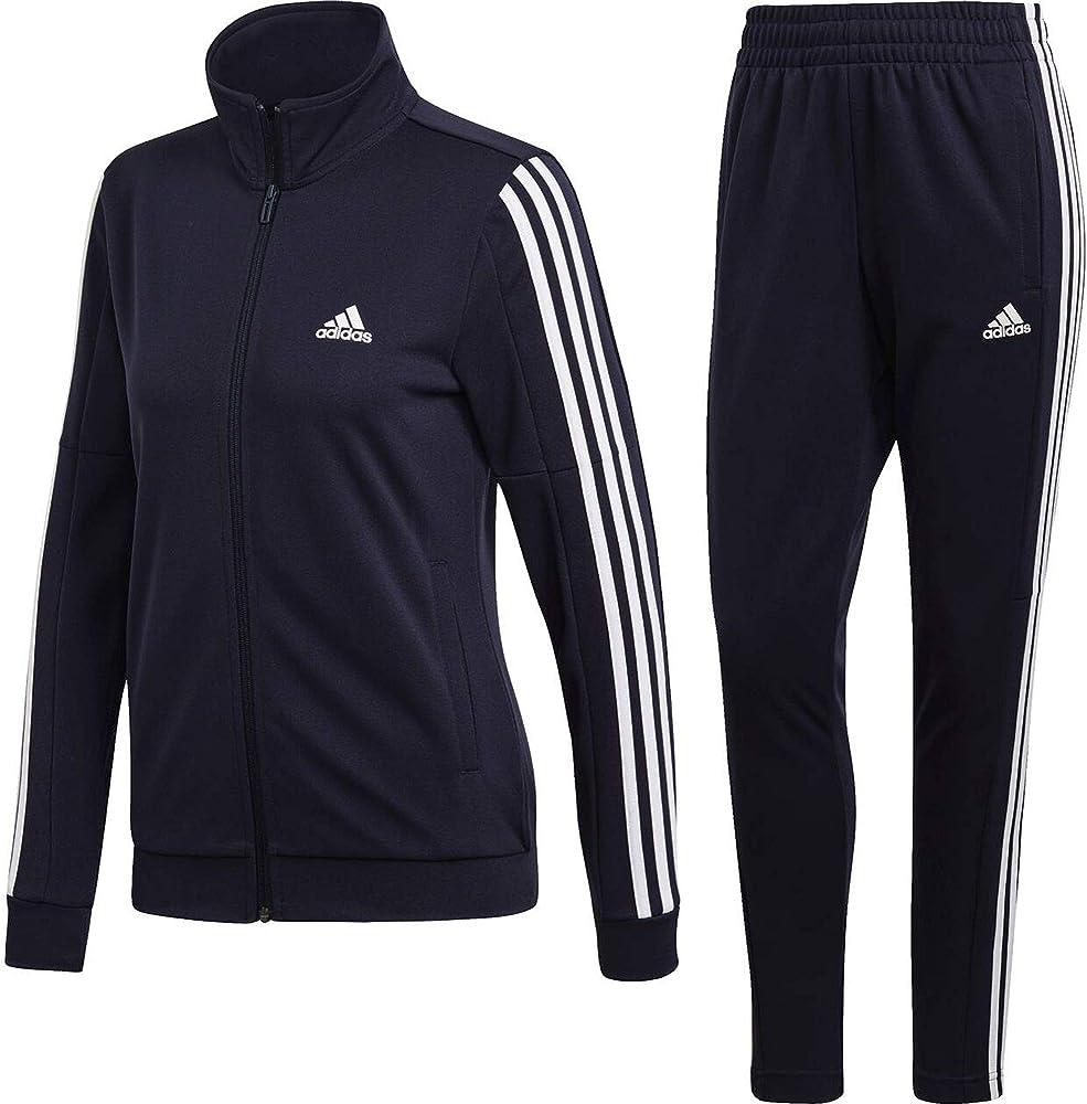adidas WTS Team Sports Chándal, Mujer, Tinley/Tinley/Blanco, 2XS ...