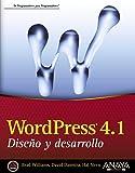 WordPress 4.1. Diseño y desarrollo (Anaya Multimedia/Wrox)