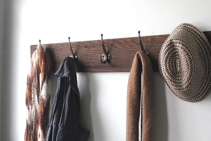 Amazon Reclaimed Barn Wood Coat Rack 40 Handmade Extraordinary Reclaimed Barn Wood Coat Rack