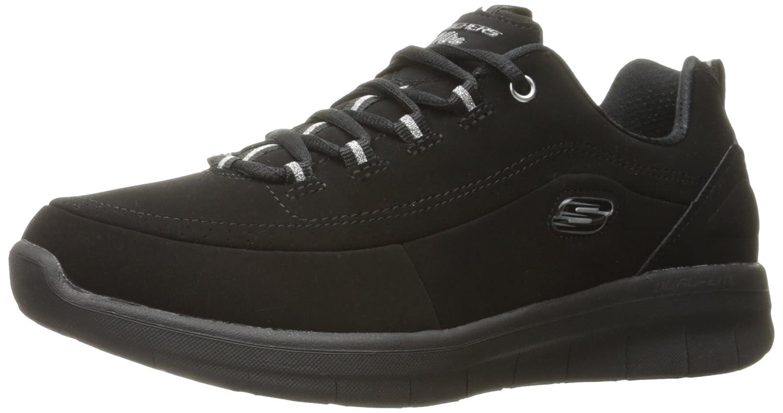 Skechers Women's S Ynergy 2.0-Side-Step Fashion Sneaker B01MQHKMXL 10 B(M) US|Black