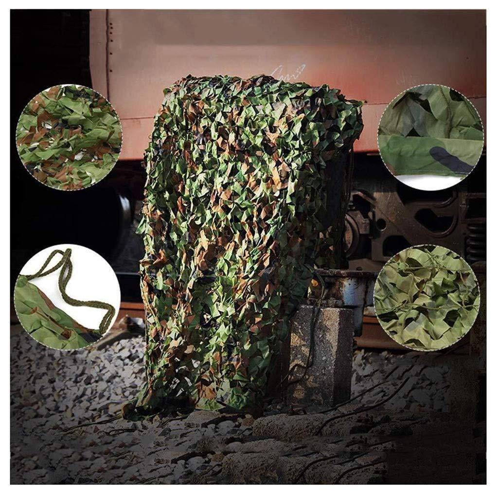 1010M Filet De Camouflage Vert,Filet D'ombrage 3x3m Camo Net écran Solaire Filet Tente Oxford En Tissu For Les Jeux For Enfants Chasse De Tir Ombre Camo Cover Net For Camping Chasse Tournage Jungle Décor