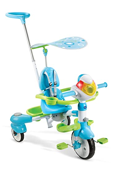 6f2b03583b7 Amazon.com: VTech 4-in-1 Stroll & Grow Tek Trike: Toys & Games