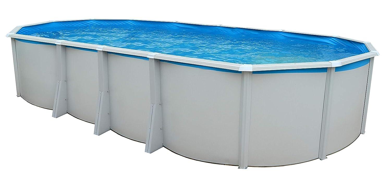 TOI - piscina IBIZA OVALADA 915x457x132 cm Filtro 6 m³/h: Amazon ...