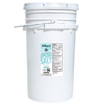 Magnesium Sulfate, Comes in a Re-sealable Plastic Pail