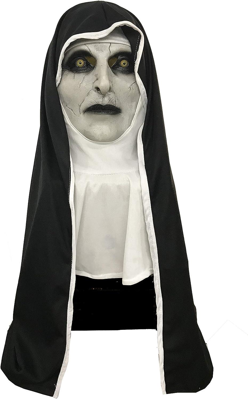 The Nun-Horrorfilm-Kostüm für Erwachsene schwarz-weiss-braun Cod.321620