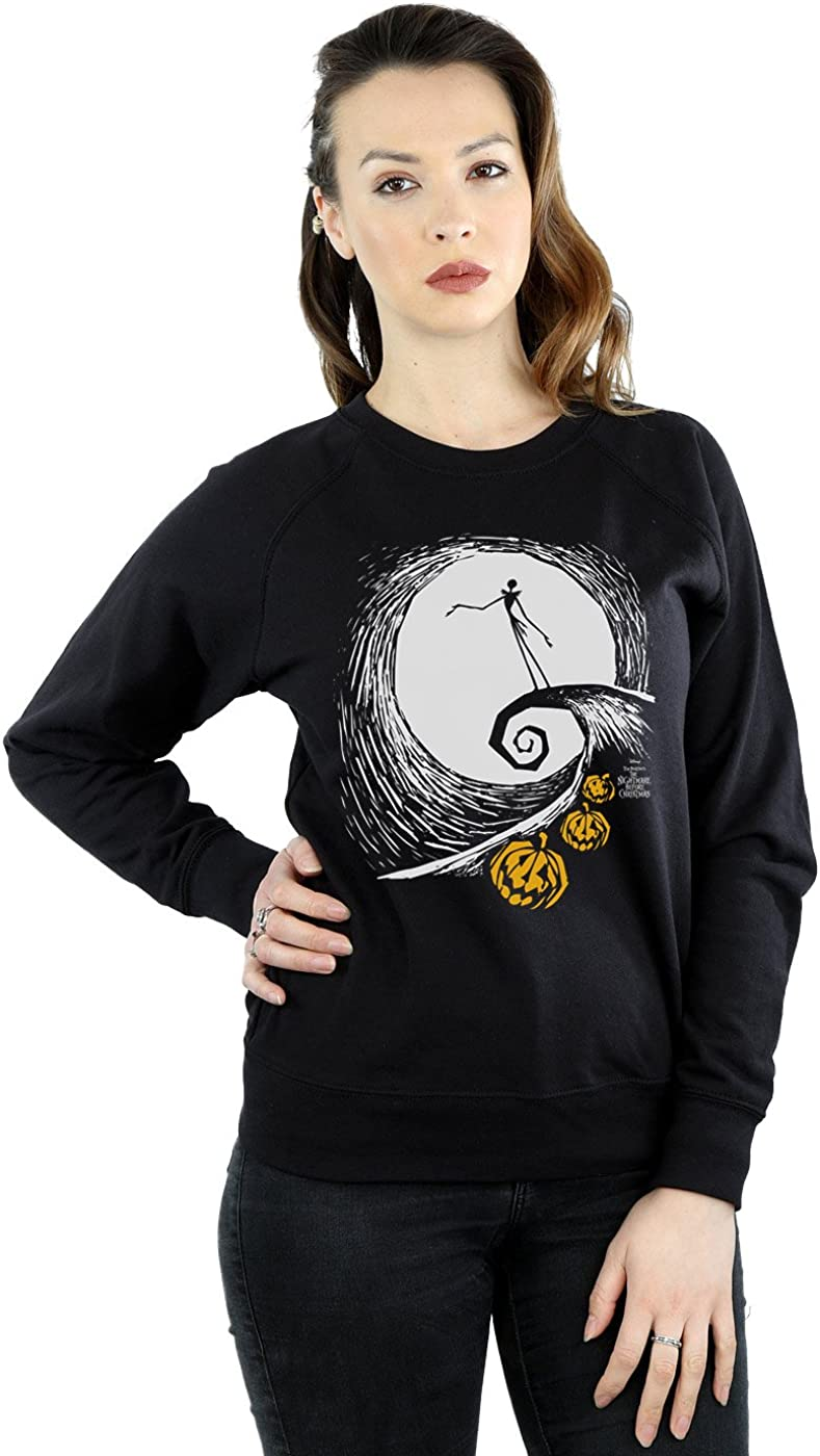 Disney Womens Nightmare Before Christmas Jacks Lament Sweatshirt