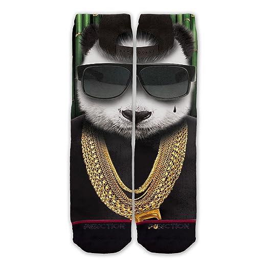 function panda gangster fashion socks at amazon men s clothing store