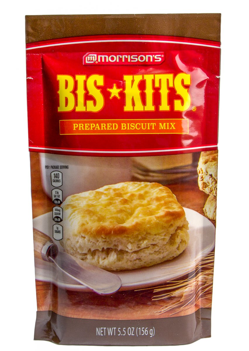 Morrison's Bis-Kit Prepared Biscuit Mix 5.5 Oz (Pack of 6)