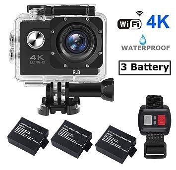 Outdoor Sport Dv Doppel Bildschirm Wifi Wasserdichte Action Kamera Fernbedienung Lcd Camcorder Unterhaltungselektronik