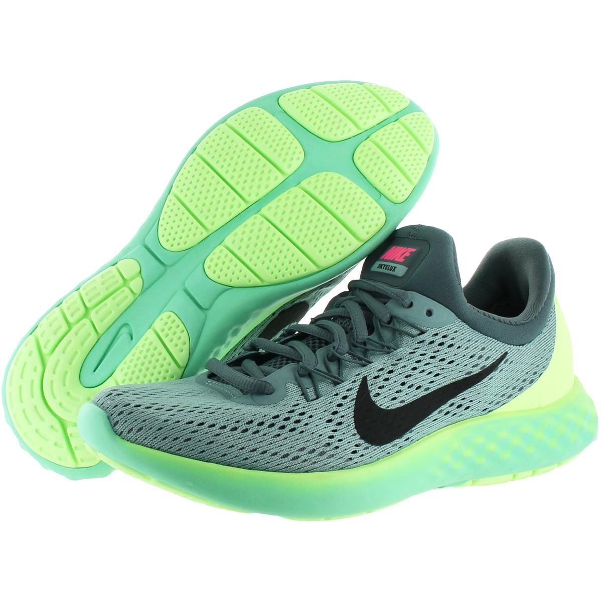 NIKE Womens Lunar Skyelux Round Toe Lace-up Running Shoes B01CJ3NNLS 12 M US Cannon/Black-hasta-ghost Green