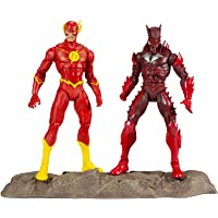 """McFarlane Toys 15452-8 DC Multiverse Earth -52 Batman (Red Death) and The Flash 7"""" Action Figure Multipack"""