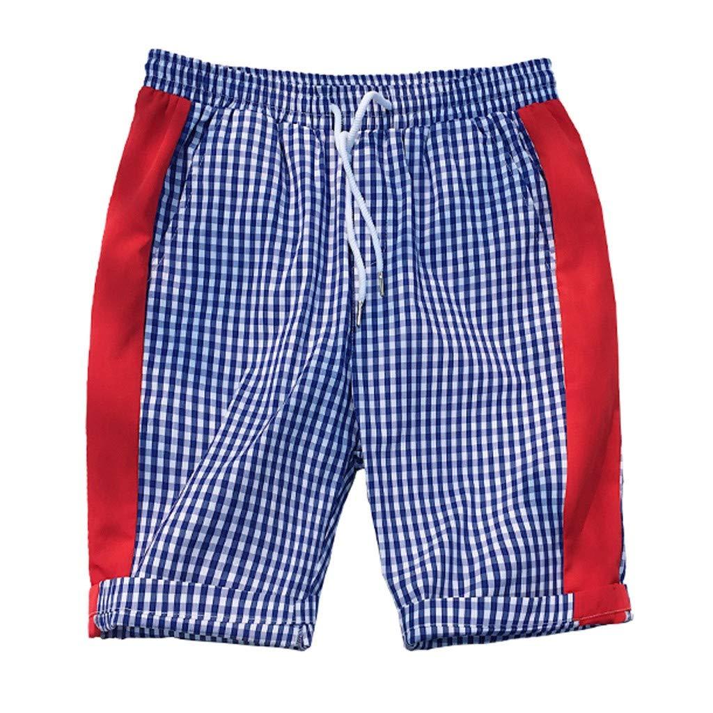 X-Armor Mens Swim Trunks Beach Running Shorts Swimwear