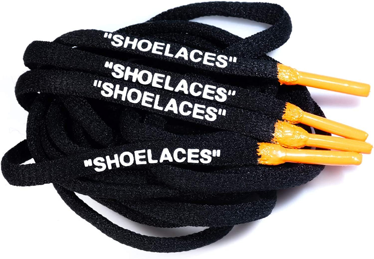 Oval Polyester Printed Shoe Laces with