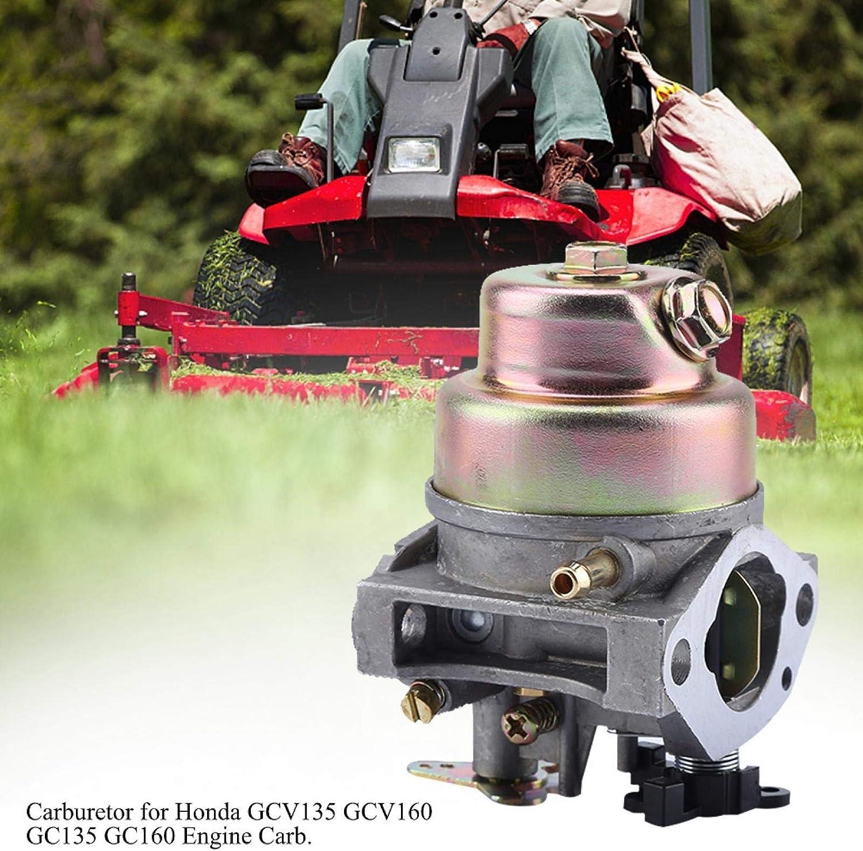 Carburador para Honda Gcv160 HRB216 HRT216 16100-Z0l-023 Kit de herramientas de jardiner/ía para el hogar carburador