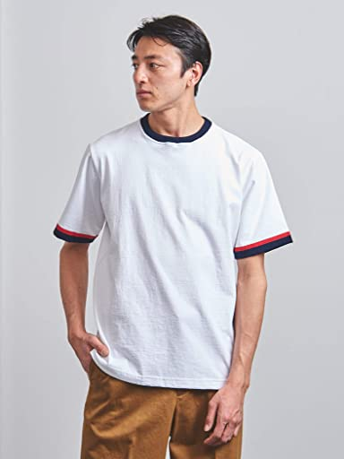 Trimmed Tee 1117-499-2510: White