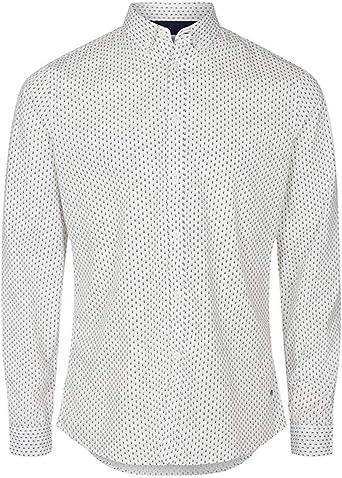 Solid Camisa Juan Sergant Blanco: Amazon.es: Ropa y accesorios