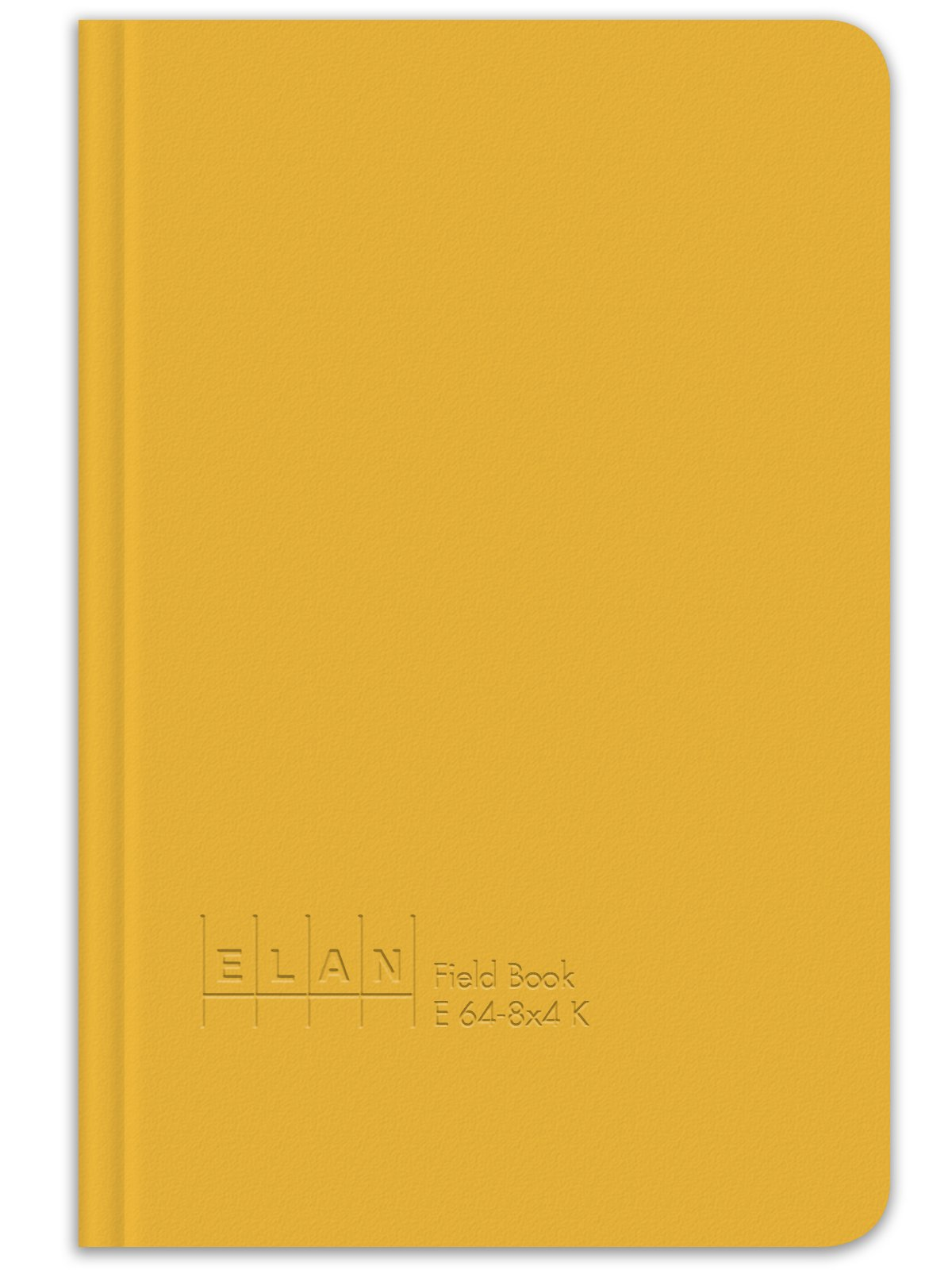 Elan Publishing Company E64-8x4K King Size Field Surveying Book 6 x 9, Yellow Cover (Pack of 6)